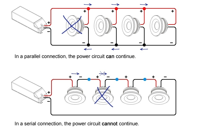 Magnificent Dim Lights In Parallel Wire Images - Electrical ...