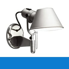 Artemide Tolomeo wall lights